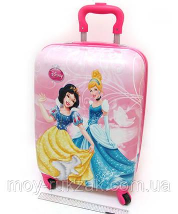 """Детский чемодан дорожный на колесах 18"""" «Принцессы» Princess-7, 520380, фото 2"""