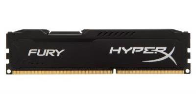 Оперативная память Kingston DDR4 4GB 2666MHz HyperX Fury Black (HX426C15FB/4)