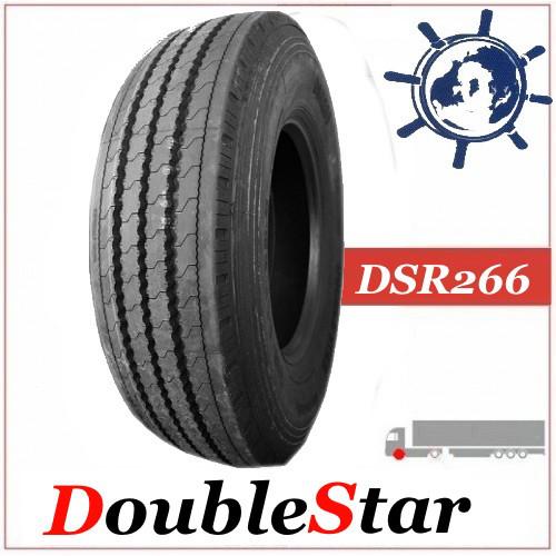 Шина 295/80R22.5 154/150L DoubleStar DSR266 рулевая, грузовые шины на автобус и грузовик на рулевую ось