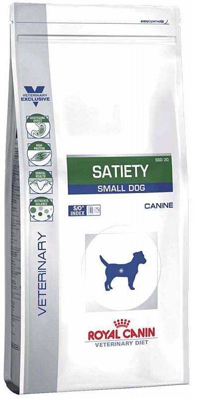 Лечебный корм для мини-собак с лишним весом Royal Canin Satiety Small Dog