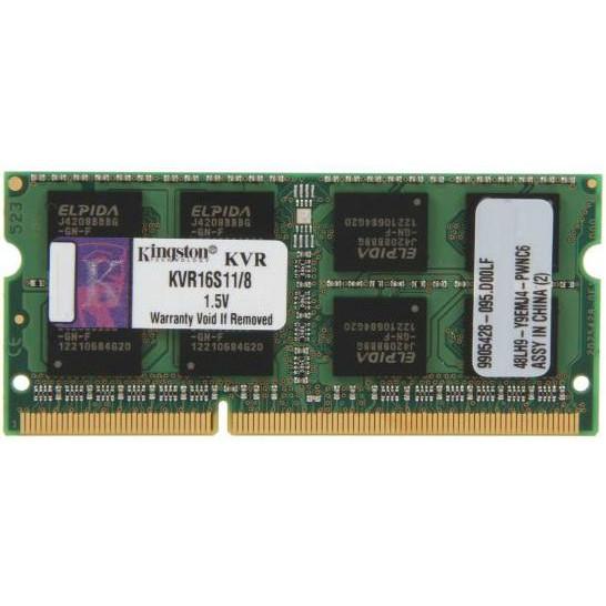 Оперативная память Kingston DDR3 8Gb 1600MHz (KVR16S11/8)