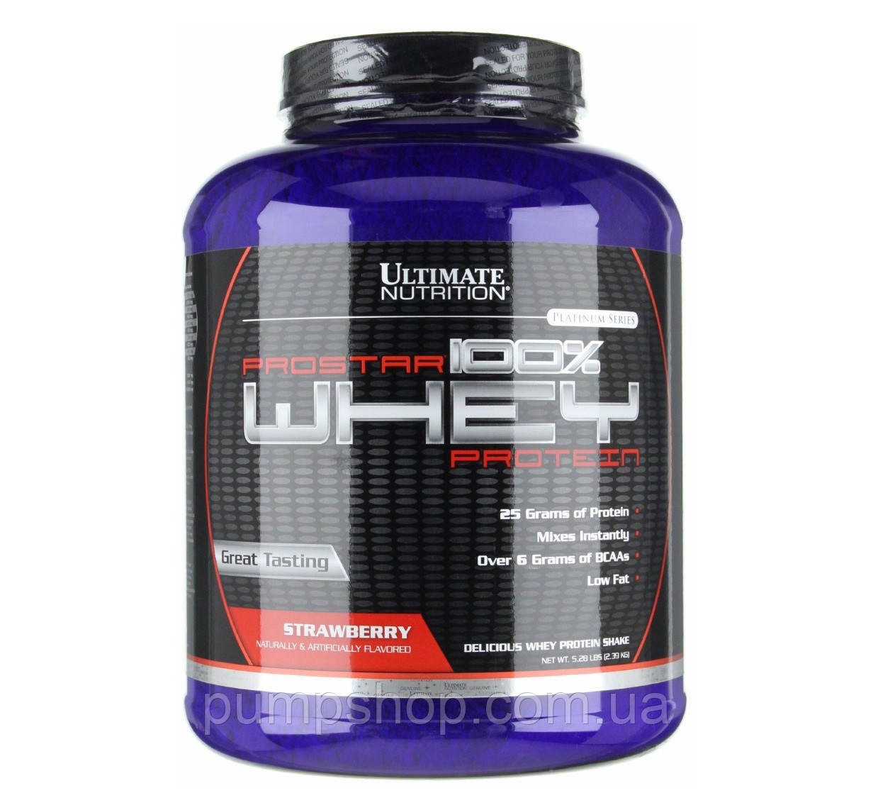 Протеин изолят Ultimate Nutrition ProStar 100% Whey Protein 2,36 кг