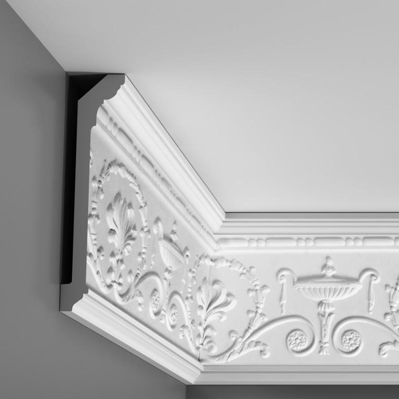 Лепнина Орак декор C308 Карниз с орнаментом Orac Luxxus