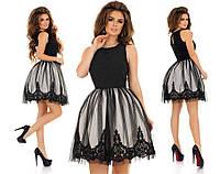 Платье с вышивкой в расцветках 32451, фото 1