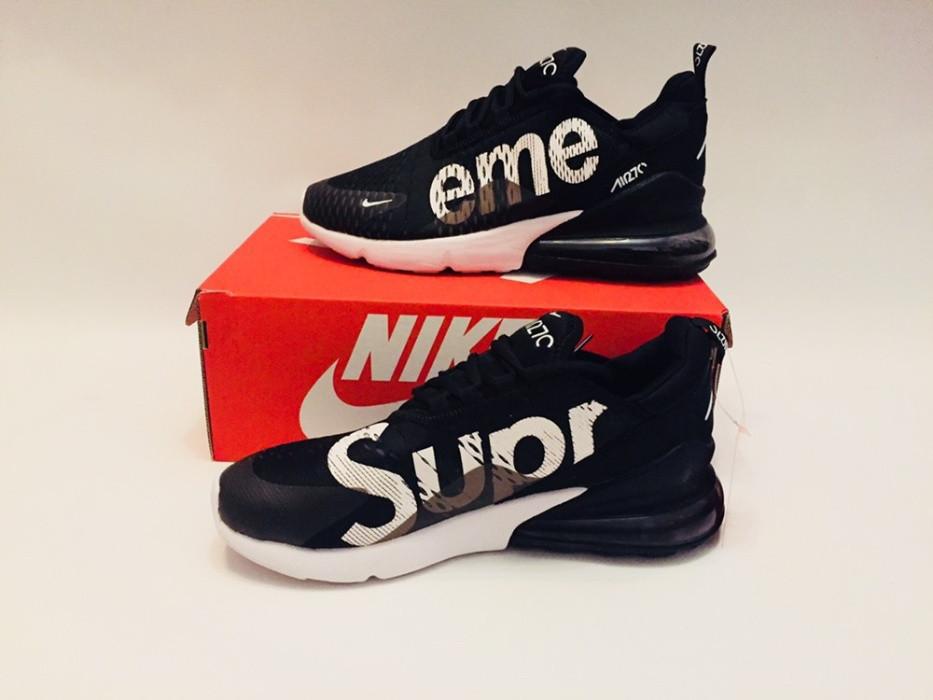 "Кроссовки Nike Air Max 270 Supreme ""Black/White"""