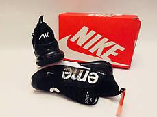 "Кроссовки Nike Air Max 270 Supreme ""Black/White"", фото 2"