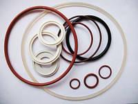 Маслостойкие Изделия из силиконовых резиновых смесей, прокладки, кольца, манжеты, уплотнения и прочие РТИ