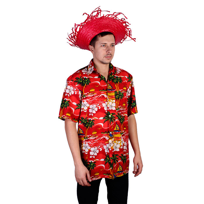 Свадьба в гавайском стиле / гавайская рубашка.