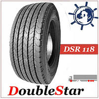 Грузовая шина 385/65R22.5 160K DoubleStar DSR118 прицеп/ руль, грузовые шины ДаблСтар ДСР 118 на руль