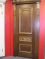 Двери из шпона Ореха
