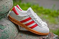 "Кроссовки Adidas Hamburg ""Grey/Red"""