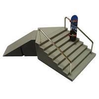Скейтпарк лестница Sbego+фингерборд