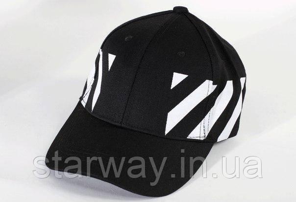 Кепка чёрная Off - White лого