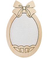 Заготовка для вышивания нитками FLH-035  (2шт) 7.5*12см, фанера
