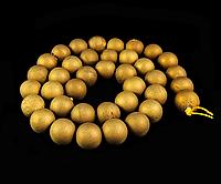 Заготовка из  матового агата,10мм бронзового цвета