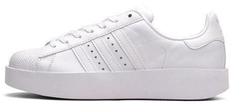 8fe078327149 Женские кроссовки Adidas Superstar Bold W Ftwr White/Core Black BA7668 –  купить. 💰Цена в Киеве, Одессе, ...