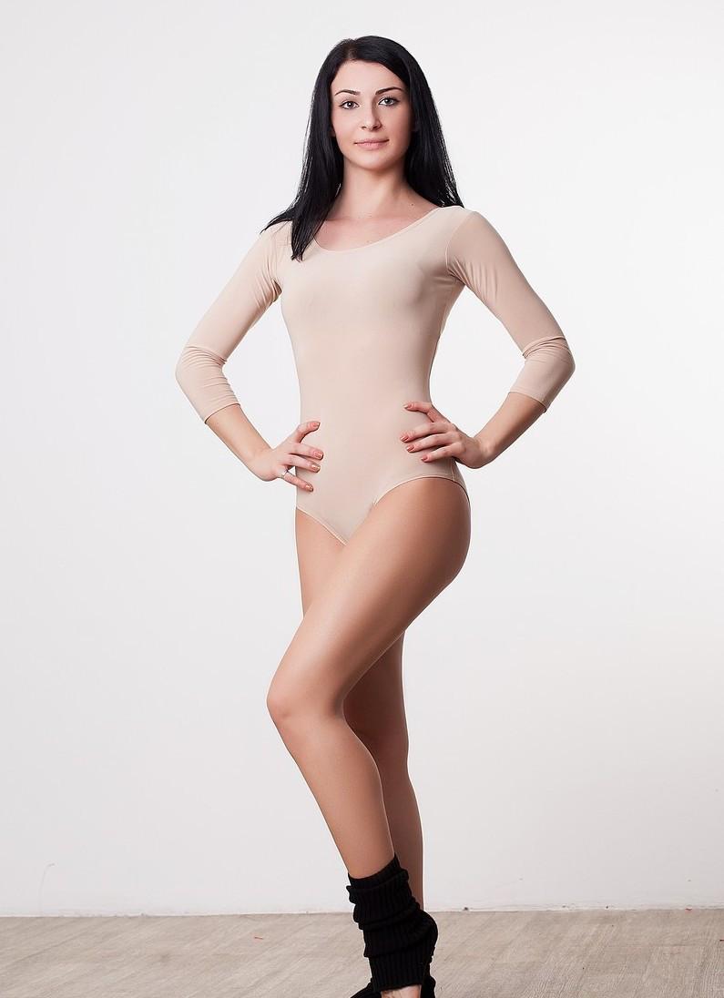 Женский купальник для танцев и аэробики