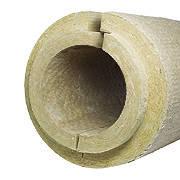 Цилиндр базальтовый негорючий для труб PAROC Pro Section 100 кг/м3,  диаметр 426 мм, толщина 50мм., фото 1