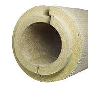 Цилиндр базальтовый негорючий для труб PAROC Pro Section 100 кг/м3,  диаметр 102 мм, толщина 50мм., фото 1