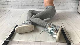 Лосины ангора софт серый