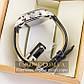 Мужские оригинальные часы Guardo silver black 04735g-10601, фото 3