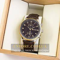 Мужские оригинальные часы Guardo silver brown 04737g-10601, фото 1