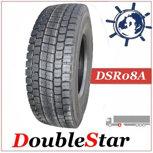 Шина 295/80R22.5 152/148M DoubleStar DSR08A ведуча,  грузовые шины на ведущую ось грузовика автобуса