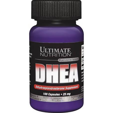 DHEA 25 mg Ultimate Nutrition 100 капс, фото 2