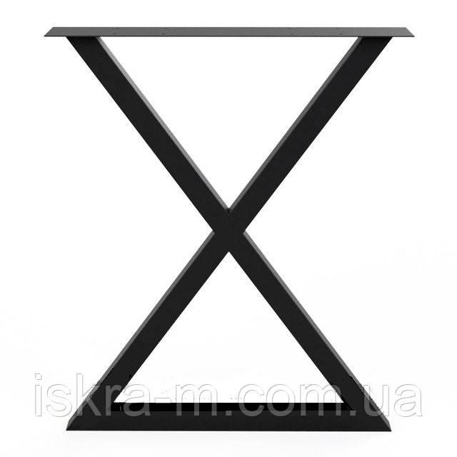 Металлический каркас для стола в стиле лофт