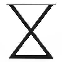 Металлический каркас для стола в стиле лофт, фото 1
