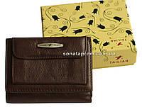 Компактный женский кошелек из натуральной кожи Tailian