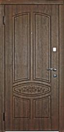 Вхідні двері Каскад серія Стандарт модель Гранат