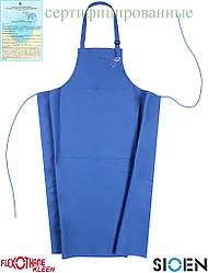 Фартук передний полиамидной рабочий синий SIOEN Бельгия (спецодежда защитная) SI-NANTOU N