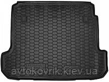 Пластиковый коврик в багажник Renault Fluence 2009- (AVTO-GUMM)