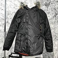 Мужская куртка Parka Caswera Skew Black, Копия