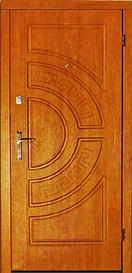 Вхідні двері Каскад серія Стандарт модель 102
