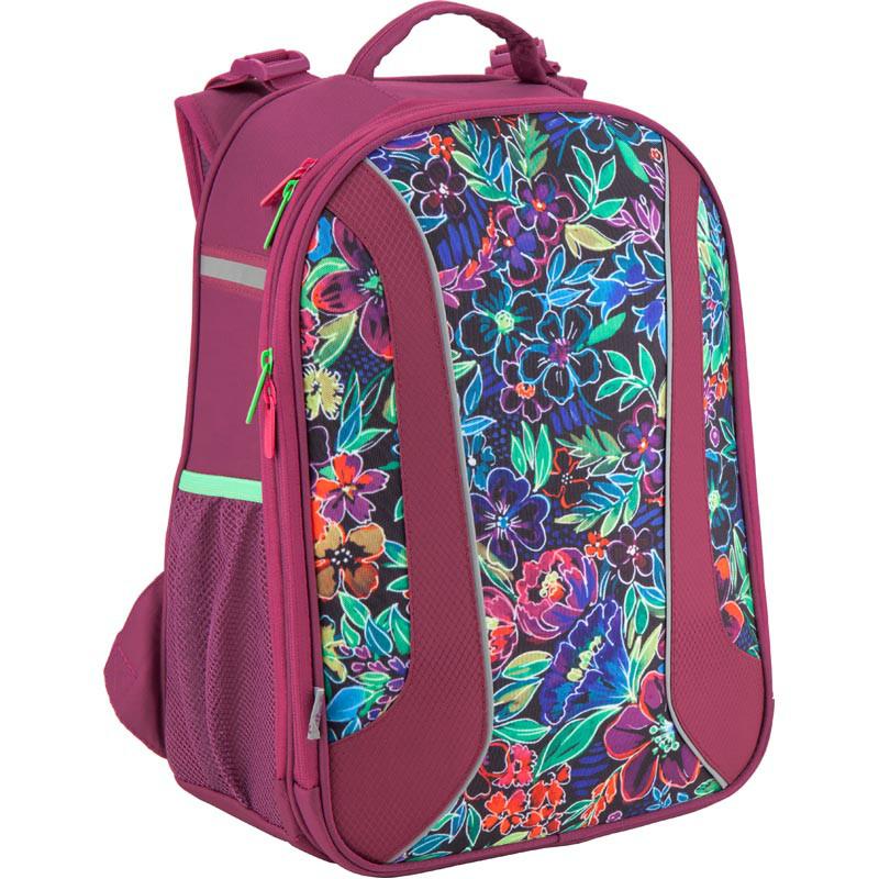 Рюкзак школьный каркасный Kite 703 Flowery K18-703M-2
