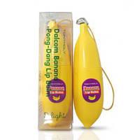 Бальзам для губ с экстрактом банана Tony Moly Delight Dalcom Banana Pongdang Lip Balm, оригинал