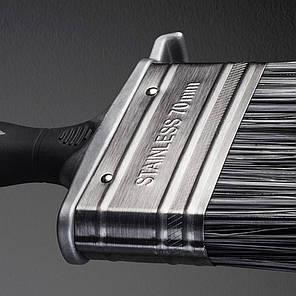 Кисть ANZA Platinum изогнутая для наружных работ (341490), 100мм, фото 2