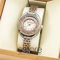 Женские наручные часы Swarovski gold white (07456)