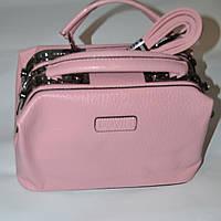 Женская  классическая розовая сумочка DOVILI