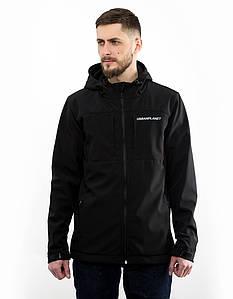 Мужская весенняя черная куртка Urban Planet WN7 BLK
