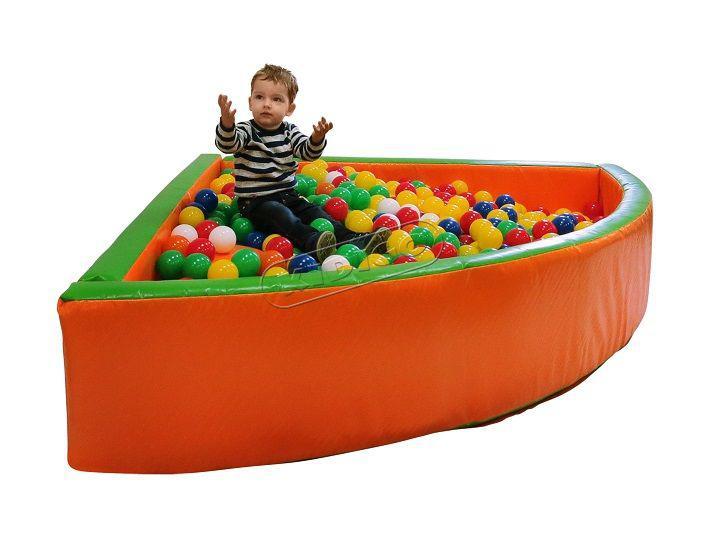 """Дитячий сухий басейн KIDIGO """"Кут"""" 1.8м"""