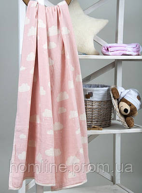 Плед-накидка Barine Cloud Throw розовый 130*170