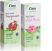 Дневной крем с экстрактом граната  для любой кожи лица Cien nature tagescreme  50 мл.