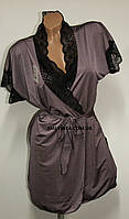 Комплект женский пурпур Glamour  S-L р.