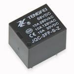 Реле электромагнитное JQC-3FF(NT73) 10A 1C coil 5VDC