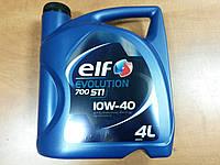 Моторное масло ELF Evolution 700 STI 10W-40, 4л, - производства Франции