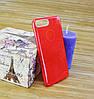 Силиконовый чехол на Айфон, iPhone 7+ \ 7 Plus TWINS красный, фото 3