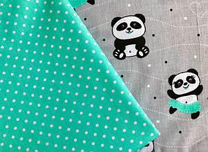 """Детское постельное белье """"Милые панды"""" (100 % хлопок)"""